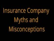Insurance Company Myths